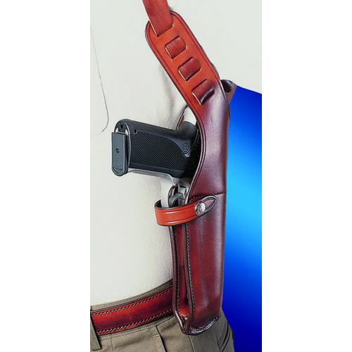 Vertical Genuine Leather Shoulder Holster For Walther PPK,PPK//s