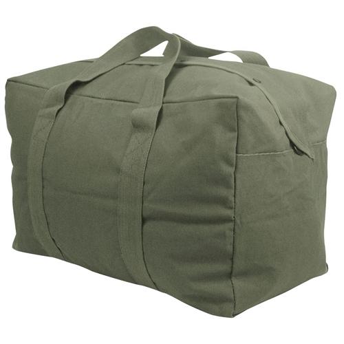 Parachute Cargo Bag Color: OD Green