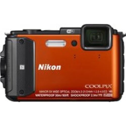 Coolpix AW130 16.0-Megapixel Waterproof Digital Camera Orange