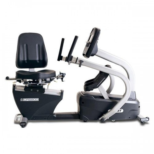 CRS800S Recumbent Stepper Cross Trainer with Swivel Seat